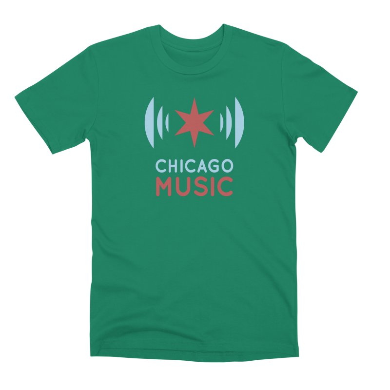 Chicago Music Men's Premium T-Shirt by Chicago Music's Apparel and Retail Shop