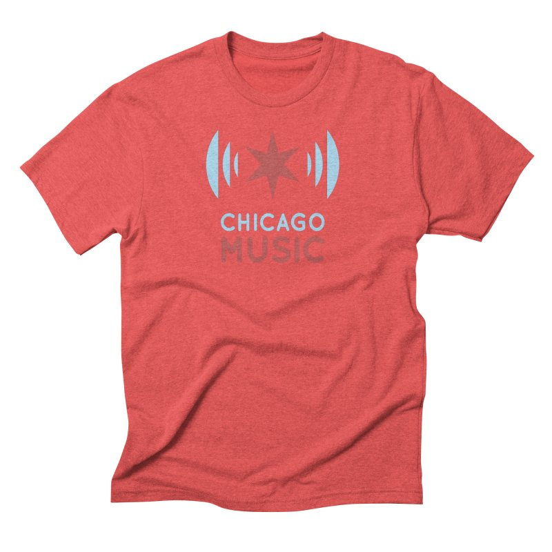 Chicago Music Men's Triblend T-Shirt by Chicago Music's Apparel and Retail Shop