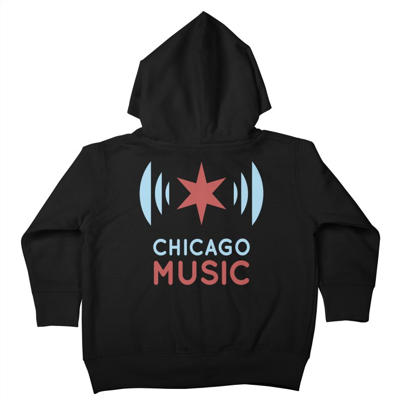 Chicago Music Kids Toddler Zip-Up Hoody by Chicago Music's Artist Shop