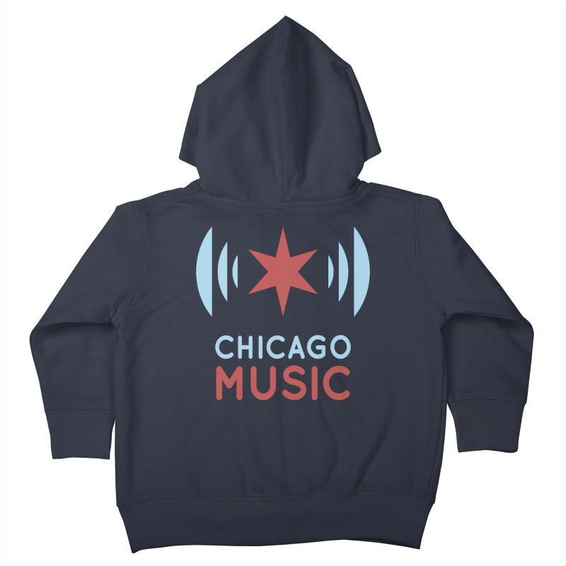 Chicago Music Kids Toddler Zip-Up Hoody by Chicago Music's Apparel and Retail Shop