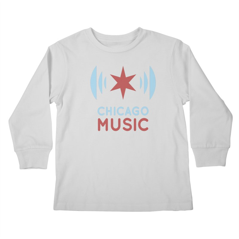 Chicago Music Kids Longsleeve T-Shirt by Chicago Music's Apparel and Retail Shop