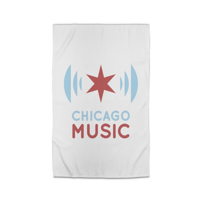 Chicago Music Home Rug by Chicago Music's Apparel and Retail Shop