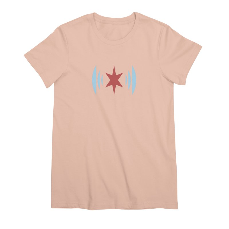 Chicago Music Women's Premium T-Shirt by Chicago Music's Apparel and Retail Shop