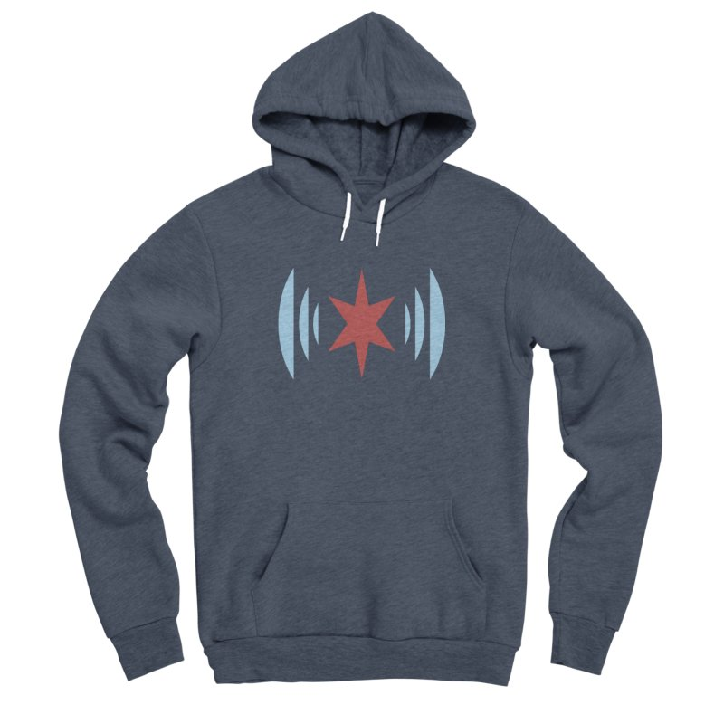 Chicago Music Men's Sponge Fleece Pullover Hoody by Chicago Music's Apparel and Retail Shop