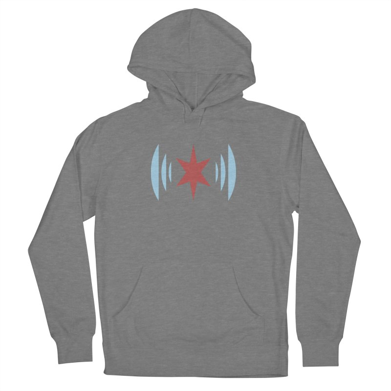 Chicago Music Women's French Terry Pullover Hoody by Chicago Music's Apparel and Retail Shop