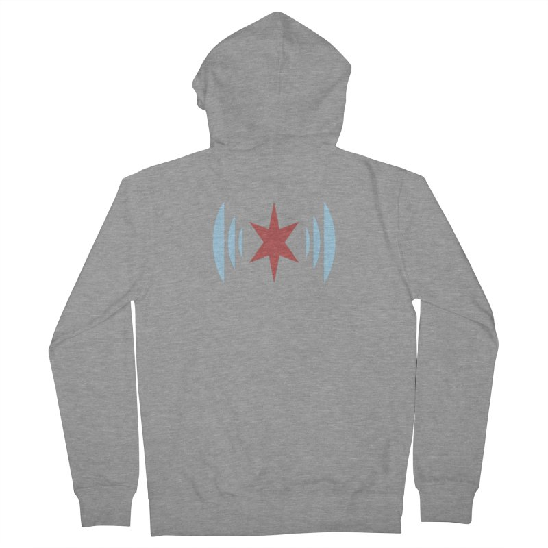 Chicago Music Men's French Terry Zip-Up Hoody by Chicago Music's Apparel and Retail Shop