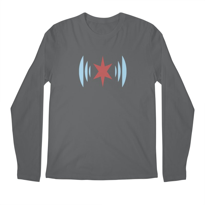 Chicago Music Men's Regular Longsleeve T-Shirt by Chicago Music's Apparel and Retail Shop