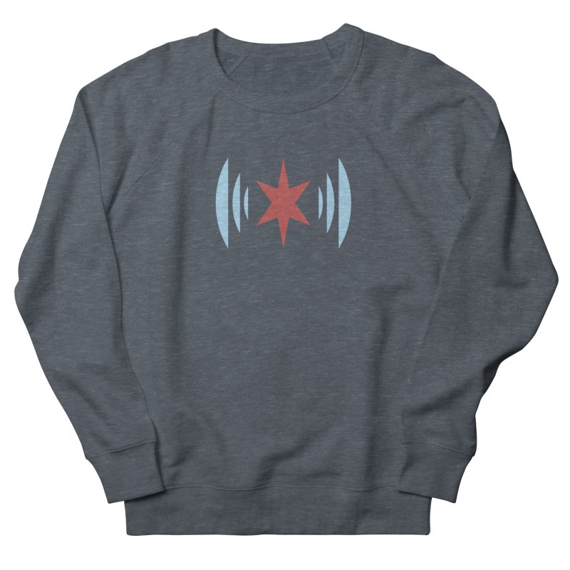 Chicago Music Men's French Terry Sweatshirt by Chicago Music's Apparel and Retail Shop