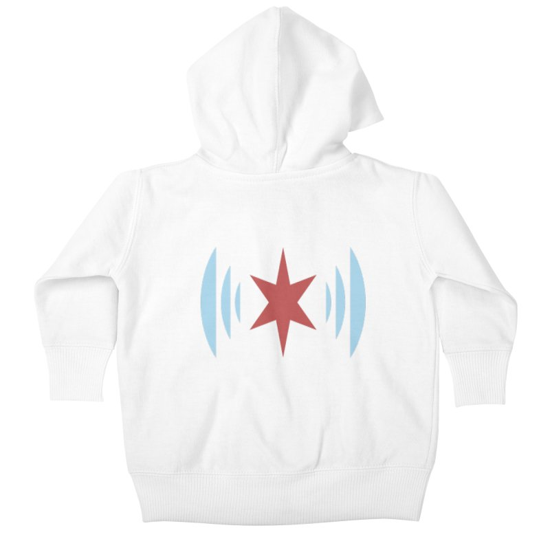 Chicago Music Kids Baby Zip-Up Hoody by Chicago Music's Apparel and Retail Shop