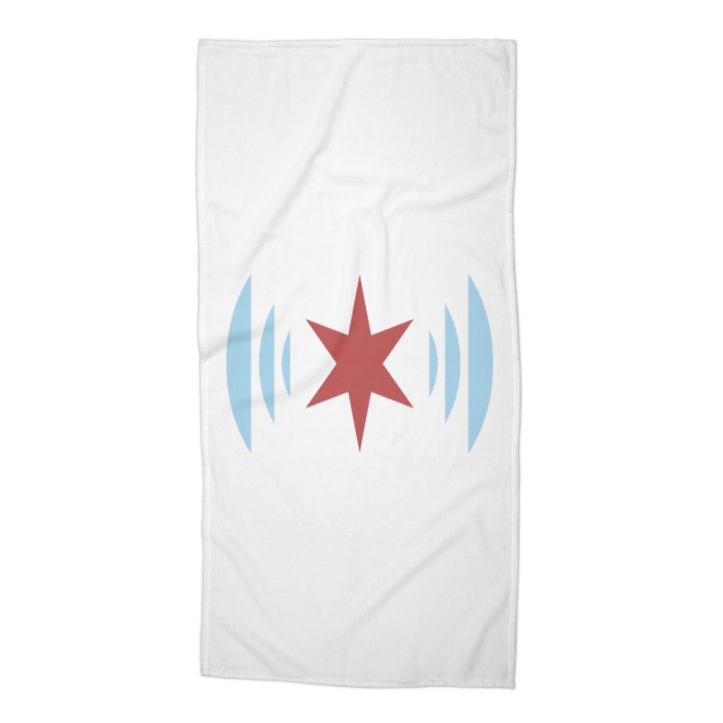 Chicago Music Accessories Beach Towel by Chicago Music's Artist Shop