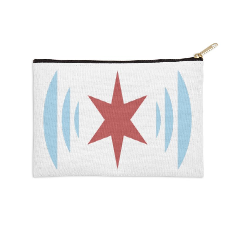 Chicago Music Accessories Zip Pouch by Chicago Music's Apparel and Retail Shop