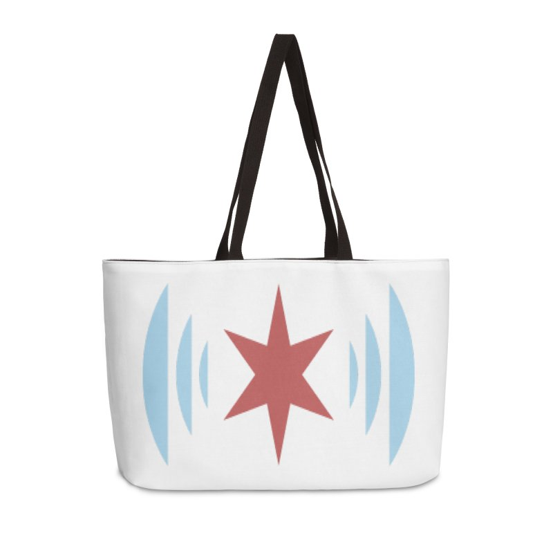 Chicago Music Accessories Weekender Bag Bag by Chicago Music's Apparel and Retail Shop