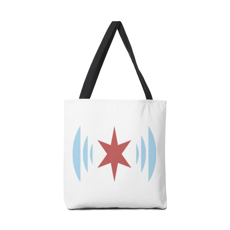 Chicago Music Accessories Tote Bag Bag by Chicago Music's Apparel and Retail Shop