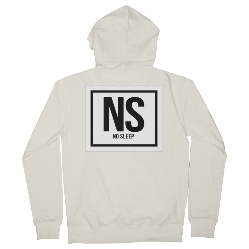 No Sleep Men's Zip-Up Hoody by Chicago Music's Apparel and Retail Shop