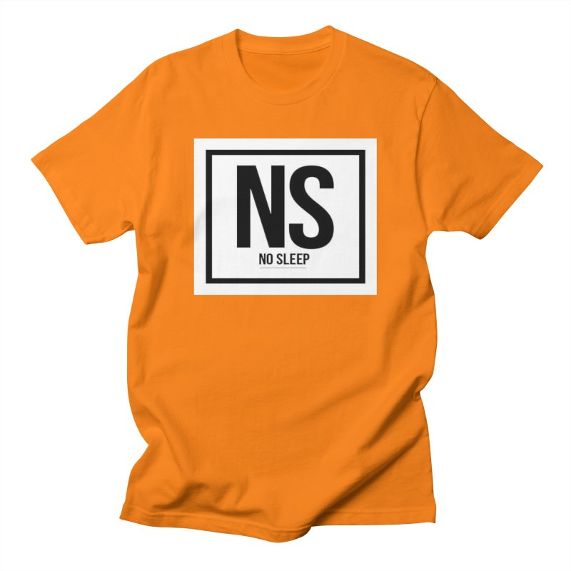 No Sleep Men's Regular T-Shirt by Chicago Music's Apparel and Retail Shop