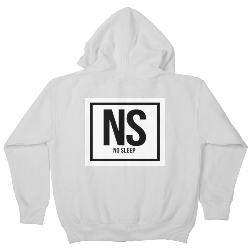 No Sleep Kids Zip-Up Hoody by Chicago Music's Apparel and Retail Shop