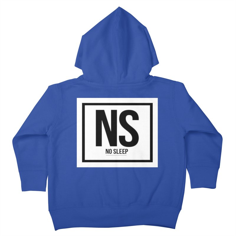 No Sleep Kids Toddler Zip-Up Hoody by Chicago Music's Apparel and Retail Shop