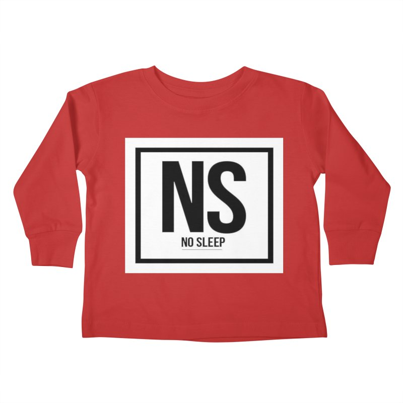 No Sleep Kids Toddler Longsleeve T-Shirt by Chicago Music's Apparel and Retail Shop