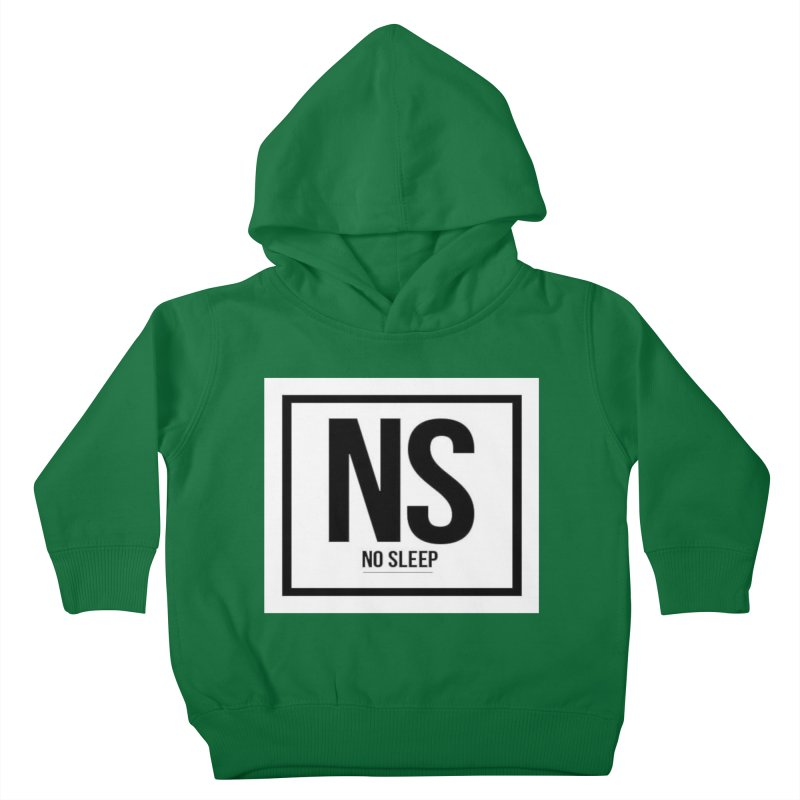 No Sleep Kids Toddler Pullover Hoody by Chicago Music's Artist Shop