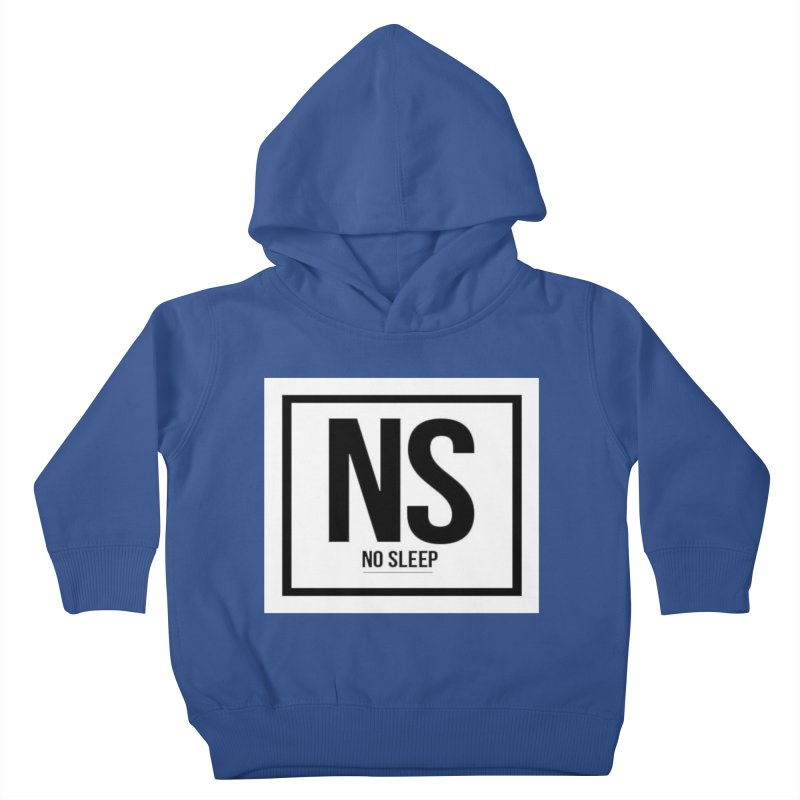 No Sleep Kids Toddler Pullover Hoody by Chicago Music's Apparel and Retail Shop