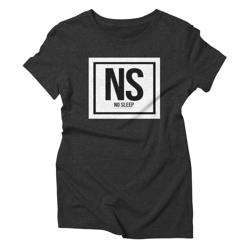 No Sleep Women's Triblend T-Shirt by Chicago Music's Artist Shop