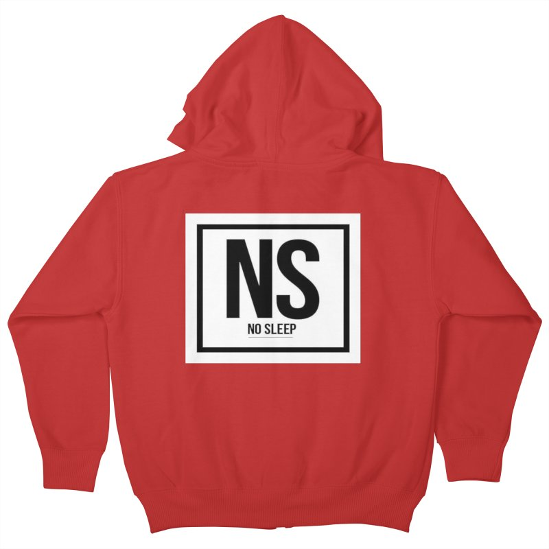 No Sleep Kids Zip-Up Hoody by Chicago Music's Artist Shop
