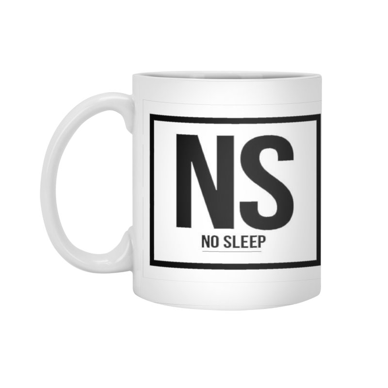 No Sleep Accessories Standard Mug by Chicago Music's Apparel and Retail Shop