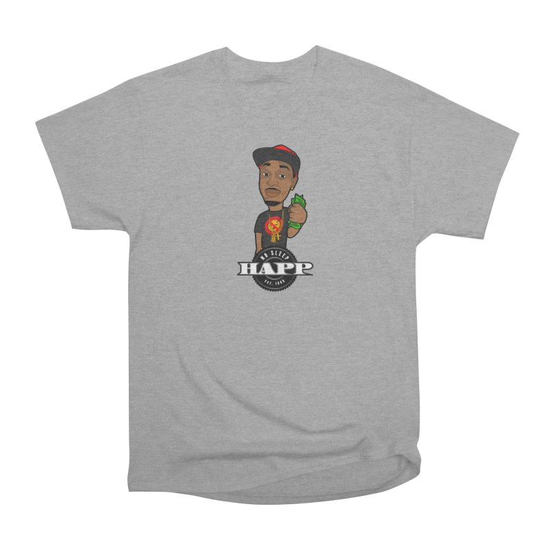 No Sleep Happ Men's Heavyweight T-Shirt by Chicago Music's Apparel and Retail Shop