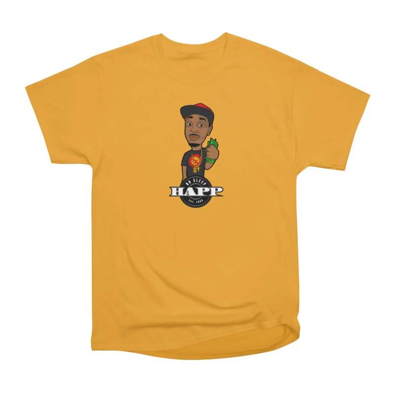 No Sleep Happ Women's Classic Unisex T-Shirt by Chicago Music's Apparel and Retail Shop