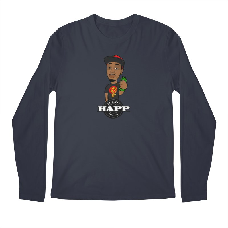 No Sleep Happ Men's Regular Longsleeve T-Shirt by Chicago Music's Apparel and Retail Shop