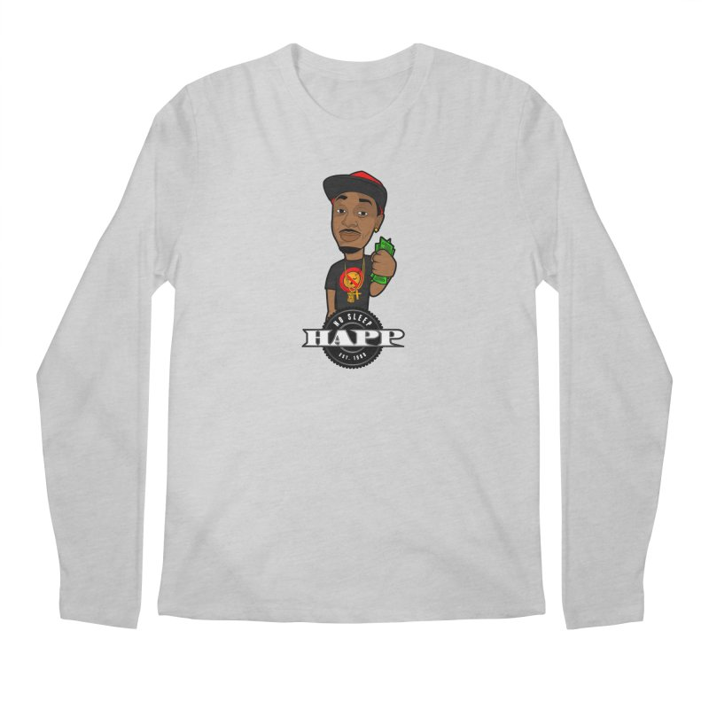 No Sleep Happ Men's Longsleeve T-Shirt by Chicago Music's Apparel and Retail Shop