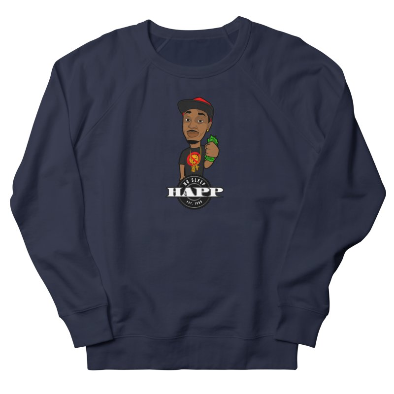 No Sleep Happ Men's Sweatshirt by Chicago Music's Apparel and Retail Shop