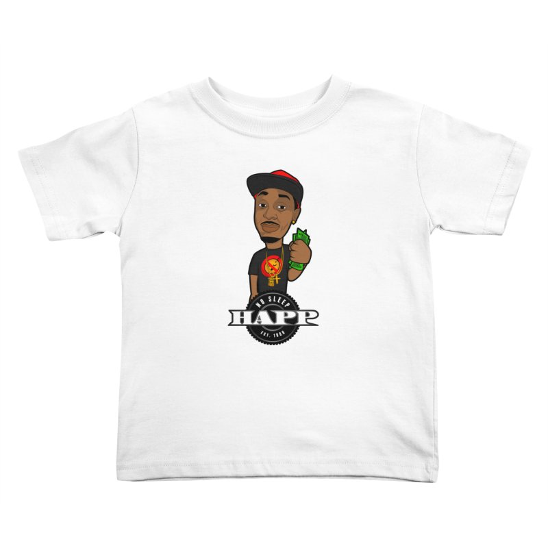 No Sleep Happ Kids Toddler T-Shirt by Chicago Music's Artist Shop