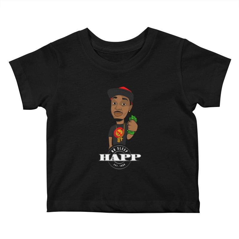 No Sleep Happ Kids Baby T-Shirt by Chicago Music's Artist Shop