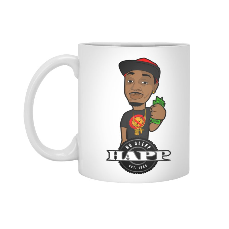 No Sleep Happ Accessories Mug by Chicago Music's Apparel and Retail Shop