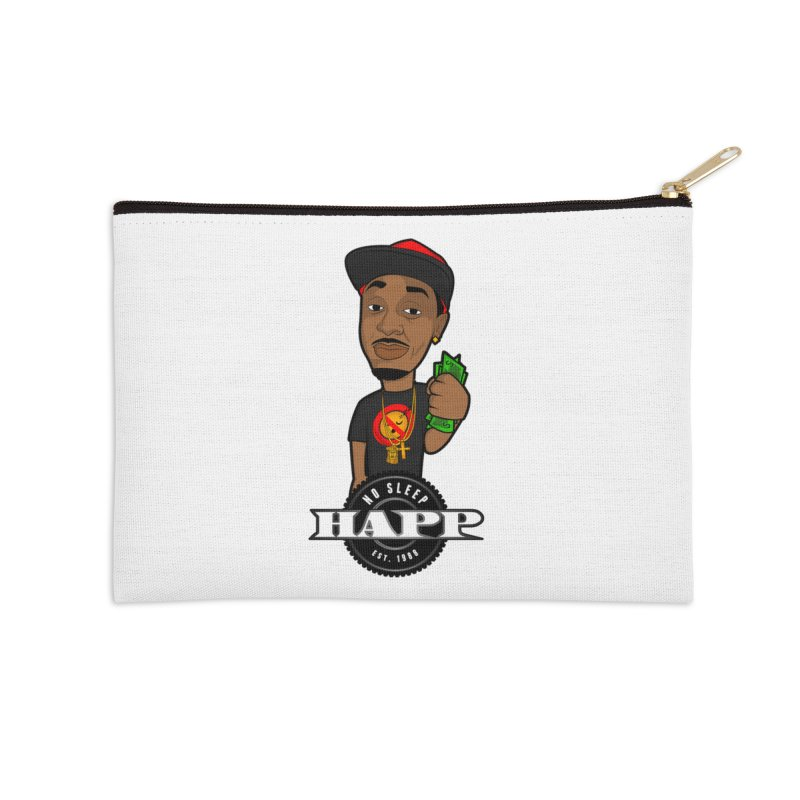 No Sleep Happ Accessories Zip Pouch by Chicago Music's Apparel and Retail Shop