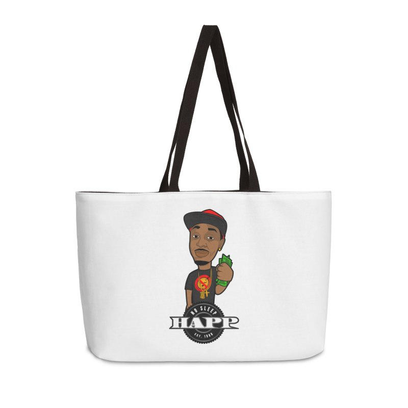 No Sleep Happ Accessories Weekender Bag Bag by Chicago Music's Apparel and Retail Shop