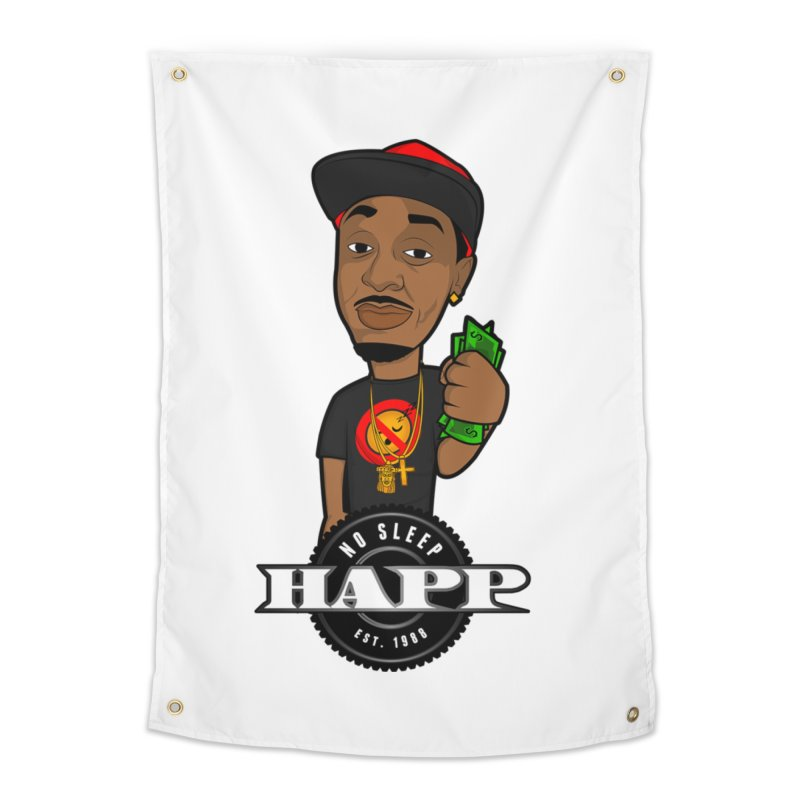 No Sleep Happ Home Tapestry by Chicago Music's Apparel and Retail Shop