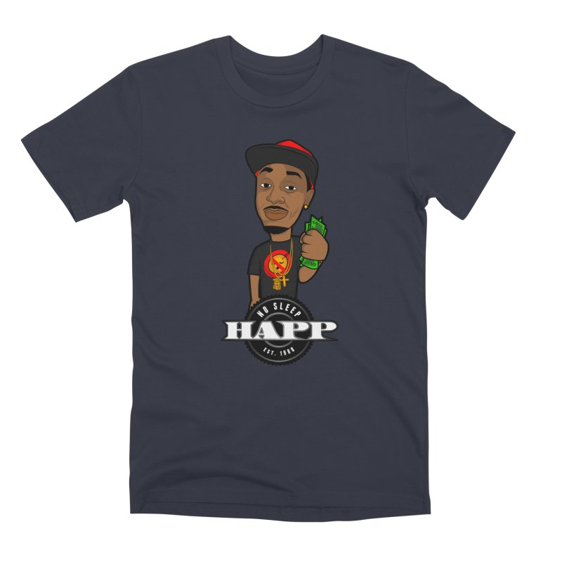 No Sleep Happ Men's Premium T-Shirt by Chicago Music's Apparel and Retail Shop
