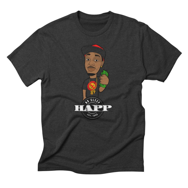 No Sleep Happ Men's T-Shirt by Chicago Music's Apparel and Retail Shop