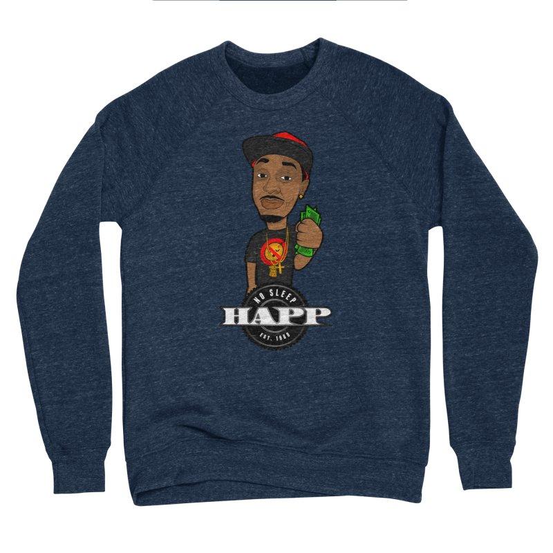 No Sleep Happ Men's Sponge Fleece Sweatshirt by Chicago Music's Apparel and Retail Shop