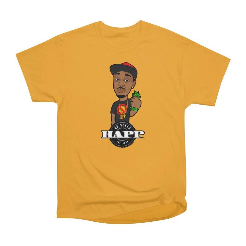 No Sleep Happ Women's Heavyweight Unisex T-Shirt by Chicago Music's Apparel and Retail Shop