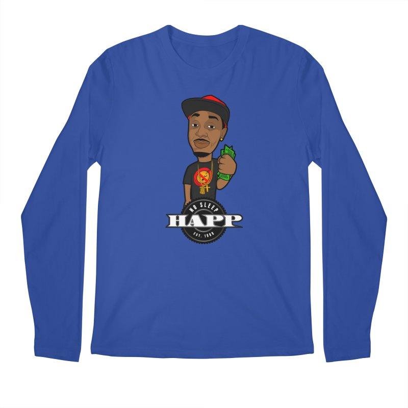 No Sleep Happ Men's Regular Longsleeve T-Shirt by Chicago Music's Apparel and Retail Shop