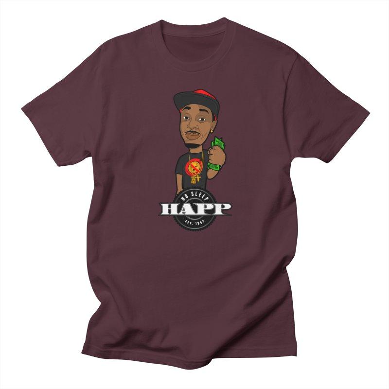 No Sleep Happ Men's Regular T-Shirt by Chicago Music's Apparel and Retail Shop
