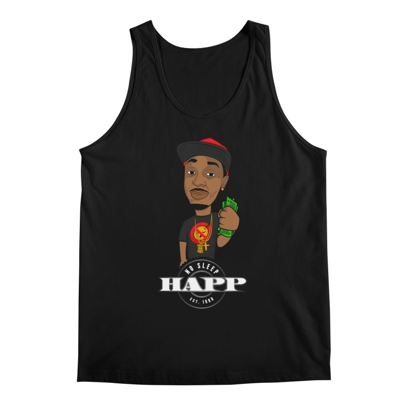No Sleep Happ Men's Tank by Chicago Music's Apparel and Retail Shop