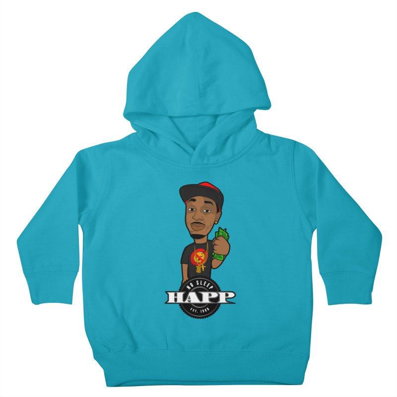 No Sleep Happ Kids Toddler Pullover Hoody by Chicago Music's Apparel and Retail Shop