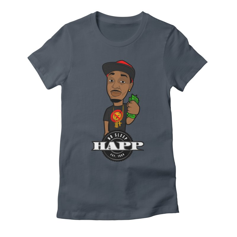 No Sleep Happ Women's T-Shirt by Chicago Music's Apparel and Retail Shop