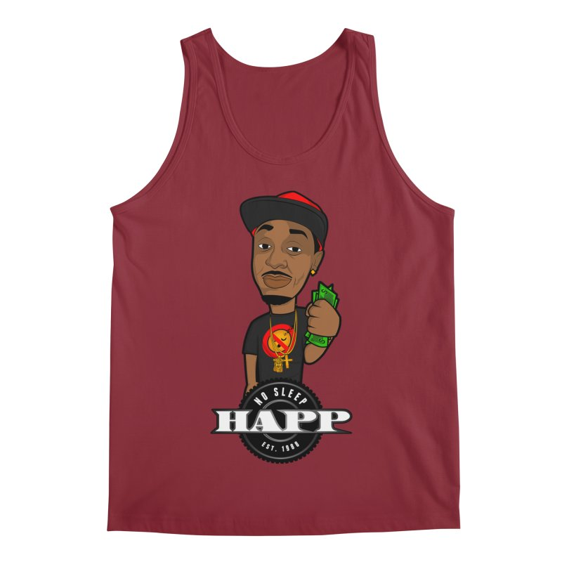 No Sleep Happ Men's Regular Tank by Chicago Music's Apparel and Retail Shop