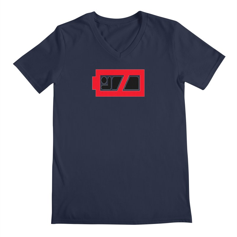 No Sleep Men's Regular V-Neck by Chicago Music's Apparel and Retail Shop