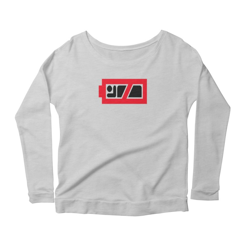 No Sleep Women's Longsleeve Scoopneck  by Chicago Music's Apparel and Retail Shop